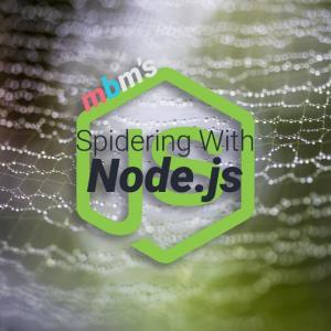 Scraping Pages in Node.js